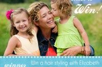 Enter to win a free mini photo session and hair styling in Los Angeles.
