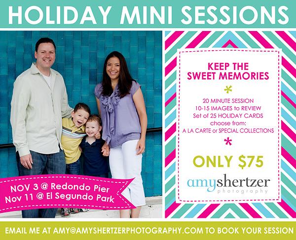 Los Angeles Family Mini Photo Sessions
